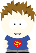 An avatar image in the style of South Park