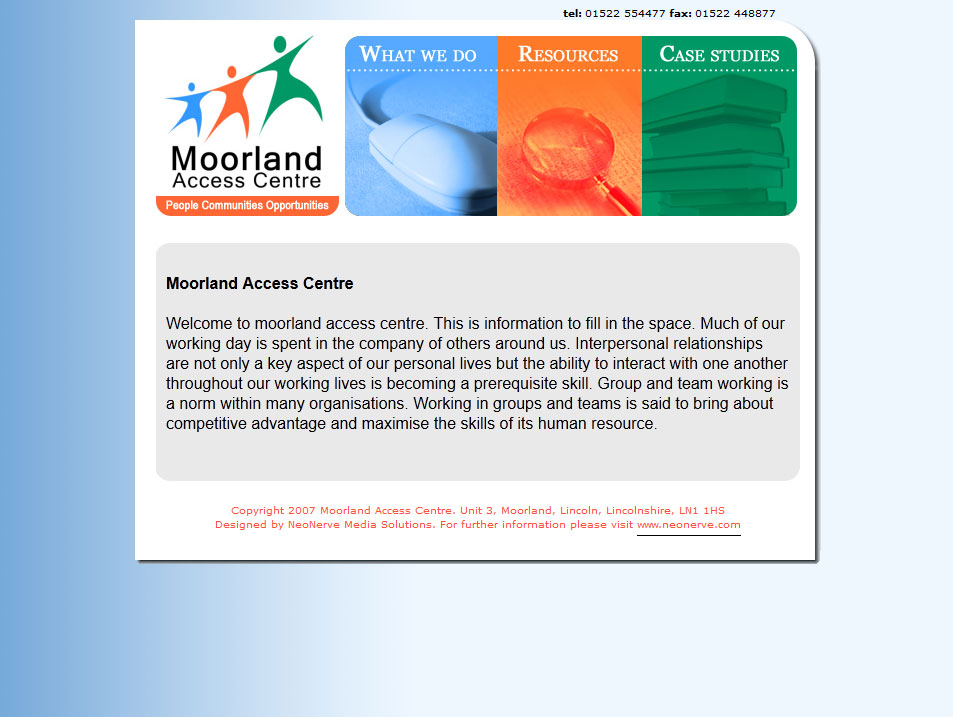 Screenshot 1 of Moorland Access Centre