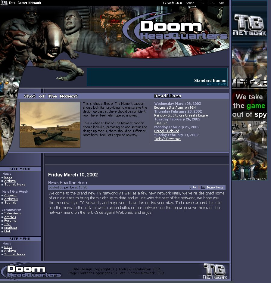 Screenshot 1 of Doom HQ